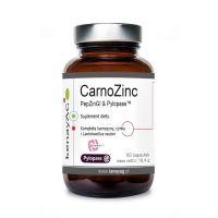 CarnoZinc PepZinGI & Pylopass - L-Karnozyna + Cynk + Lactobacillus Reuteri DSM 17648 (60 kaps.) Kenay