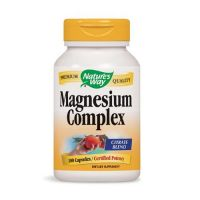 Magnesium Complex - Magnez 250 mg (100 kaps.) Nature's Way