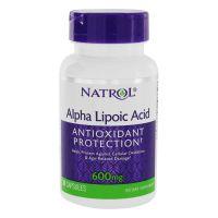 ALA - Kwas Alfa Liponowy 600 mg (30 kaps.) Natrol