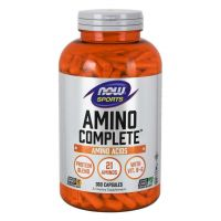 Amino Complete - Kompleks Aminokwasów i Proteiny (360 kaps.) Now Foods