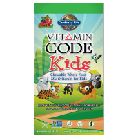 Vitamin Code Kids - Witaminy i Minerały dla Dzieci (60 tabl.) Garden of Life