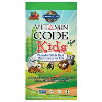 Vitamin Code Kids - Witaminy i Minerały dla Dzieci (30 tabl.) Garden of Life