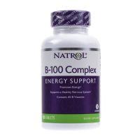 Witamina B100 - Kompleks witamin B (100 tabl.) Natrol