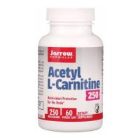 Acetyl L-Karnityna HCI 250 mg (60 kaps.) Jarrow Formulas