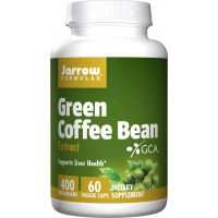 Green Coffee Bean Extract 50% GLA - Zielona Kawa 400 mg (60 kaps.) Jarrow Formulas