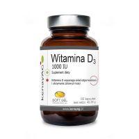 Witamina D3 1000 IU (60 kaps.) Soft Gel