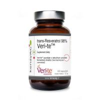 Resveratrol trans Veri-te - Trans-Resveratrol 98% (60 kaps.) Kenay AG