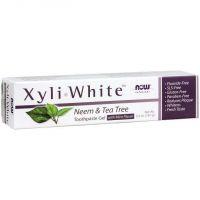 Pasta do zębów Neem i Drzewo Herbaciane - XyliWhite Neem & Tea Tree Toothpaste Gel with Mint Flavor (181 g) NOW Foods