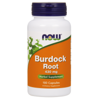 Burdock Root - Korzeń Łopianu 430 mg (100 kaps.) NOW Foods