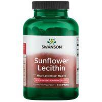 Lecytyna słonecznikowa non GMO (90 kaps.) Swanson
