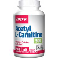Acetyl L-Karnityna HCI 500 mg (60 kaps.) Jarrow Formulas