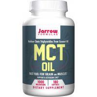 MCT Oil - Olej MCT 1000 mg (180 kaps.) Jarrow Formulas