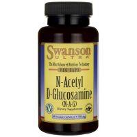 NAG (N-A-G) - N-Acetylo-D-Glukozamina 750 mg (60 kaps.) Swanson