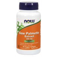 Saw Palmetto Extract - Palma Sabalowa 320 mg ekstrakt standaryzowany (90 kaps.) NOW Foods
