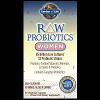 RAW Probiotics Women - Probiotyk dla Kobiet (90 kaps.) Garden of Life