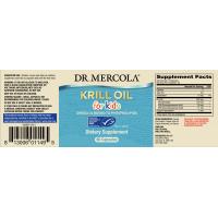 Olej z Kryla dla dzieci - Kids Krill Oil (60 kaps.) Dr Mercola