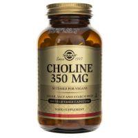 Cholina - Diglicynian Choliny 350 mg (100 kaps.) Solgar