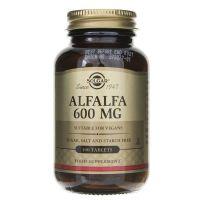 Alfalfa - Lucerna Siewna 600 mg (100 tabl.) Solgar