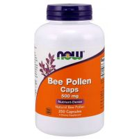 Bee Pollen - Pyłek Pszczeli 500 mg (250 kaps.) NOW Foods