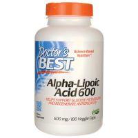 ALA - Kwas Alfa Liponowy 600 mg (180 kaps.) Doctor's Best
