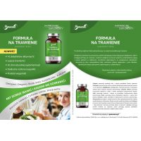 Formuła na trawienie - Ostropest + Oregano + Kadzidłowiec + Burak + Karczoch + Imbir (50 kaps.) Panaseus