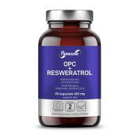 OPC + Resweratrol - Pestki Winogron + Rdestowiec Ostrokończysty (50 kaps.) Panaseus
