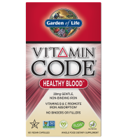 Vitamin Code RAW Healthy Blood - Zdrowie Krwi (60 kaps.) Garden of Life