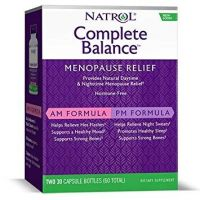 Complete Balance Menopause Relief AM/PM - Menopauza (2 x 30 kaps.) Natrol