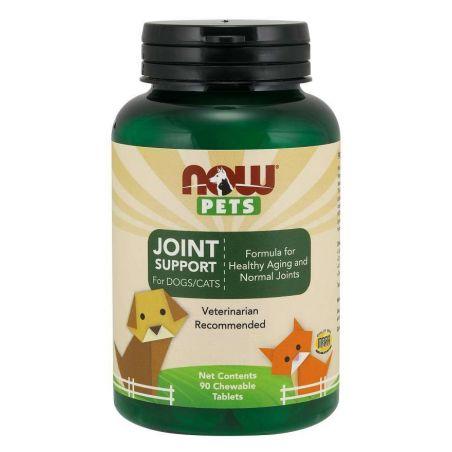 Zwierzęta - Joint support Wsparcie stawów dla psów i kotów (90 tabl.) NOW Pets