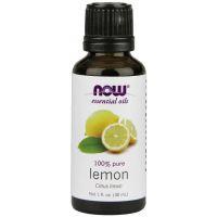 100% Olejek Cytrynowy (Lemon) - Cytryna (30 ml) NOW Foods