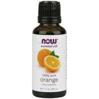 100% Olejek Pomarańczowy (Orange) - Pomarańcza (30 ml) NOW Foods
