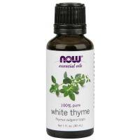100% Olejek z Białego Tymianku - Tymianek (30 ml) NOW Foods