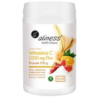 Buforowana Witamina C 1000 mg Plus (250 g) Aliness