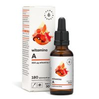 Witamina A w kroplach (30 ml) Aura Herbals