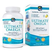 Ultimate Omega - Omega 3 o smaku cytrynowym 640 mg (120 kaps.) Nordic Naturals
