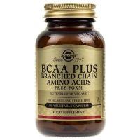BCAA Plus - Aminokwasy Rozgałęzione (50 kaps.) Solgar