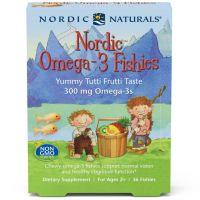 Nordic Omega-3 Fishies - Omega 3 300 mg (36 żelków) Nordic Naturals