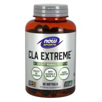 CLA Extreme - Sprzężony Kwas Linolowy z oleju z Szafranu + Guarana + Zielona Herbata (90 kaps.) NOW Foods