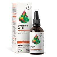 Witamina A + E Forte w oleju MCT (50 ml) Aura Herbals