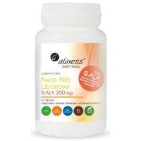 Kwas Alfa Liponowy R-ALA 200 mg (60 tabl.) Aliness
