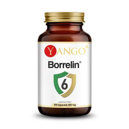 Borrelin 6 - Czystek, Szczeć, Oregano, Vilcacora, OPC, Rdestowiec i Oxy Protect (100 kaps.) Yango