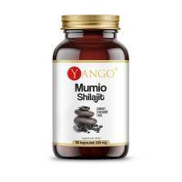 Mumio Shilajit - ekstrakt z Mumio 40% Kwasów Fulwowych (90 kaps.) Yango