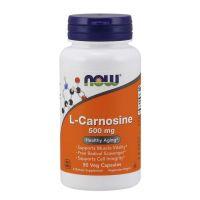 L-Karnozyna 500 mg - L-Carnosine (50 kaps.) NOW Foods