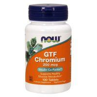 Chromium GTF - Chrom GTF 200 mcg (100 tabl.) NOW Foods