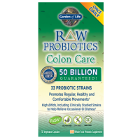 RAW Probiotics Colon Care (30 kaps.) Garden of Life