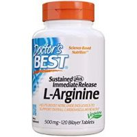 L-Arginina 500 mg (120 tabl.) Doctor's Best