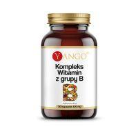 Witamina B 400 mg - kompleks witamin z grupy B (50 kaps.) Yango