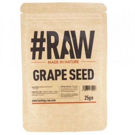 Grape Seed - Ekstrakt z Pestek Winogron (25 g) RAW Series