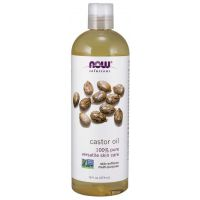 Castor Oil - 100% Olej Rycynowy (473 ml) NOW Foods