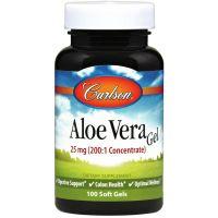 Aloe Vera Gel - Aloes koncentrat z Liści Aloesu 200:1 (100 kaps.) Carlson